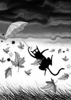 'Umbrella' von Andrew  Hitchen bei artflakes.com als Poster oder Kunstdruck $18.03