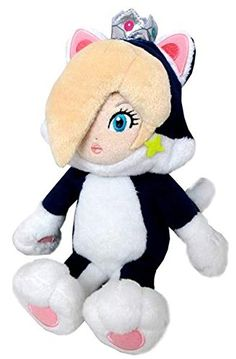 "Sanei Super Mario Series 9"" Cat Rosalina Action Figure Plush Doll Sanei http://www.amazon.com/dp/B00LNXSARS/ref=cm_sw_r_pi_dp_plO.tb12SM7V9"