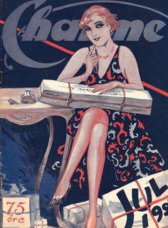 También los suecos saben de moda. | «Old magazine Sweden», 1926.