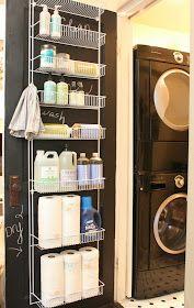 My Sweet Savannah: ~laundry room organization~