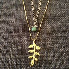 Double Chain with Leaf | 1018