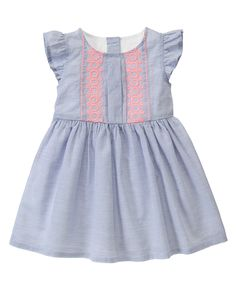 Embroidered Dot Dress at Gymboree
