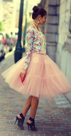tulle skirt Cute outfit if I go to NY for my BDay this year