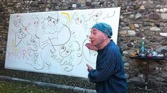 Lindsay Kemp, Drawings, Sketches, Drawing, Portrait, Draw, Grimm, Illustrations