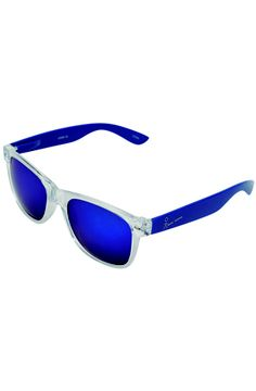 Blue Sunglasses. Play up the season's athletic details - body conscious shapes in waves of lagoon-blue and chalk white - and you'll be pushing chic to the extreme (all while exercising restraint). See more at: http://www.strandarcade.com.au/1891/curated-trends #strandarcade #cybersport #sunglasses #perfectvision
