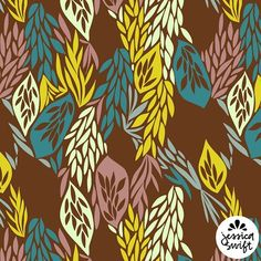 """106 Likes, 15 Comments - Jessica Swift (@jessicaswift) on Instagram: """"I recently recolored this pattern and I'm really liking the warm, fall-ish color scheme I came up…"""""""