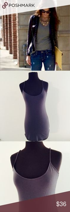 ❗️Nordstrom Sweetees Silk Tank MSRP $98 ❗️Nordstrom Sweetees Silk Grey Tank. Retails $98. Great condition. Size large. Cover photo outfit inspiration. Feel free to make an offer! I'm giving to the first reasonable offer I receive & give great bundle deals! Moving Clearout Sale--all must go! ;-) Nordstrom Tops