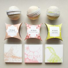 Packaging for soap by Karolina Lademann, via Behance