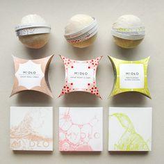 Packaging for soap by Karolina Lademann, via Behance