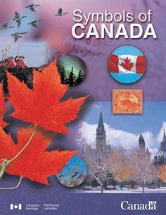 Symbols of Canada Thing 1, Canada, Canadian Art, Social Studies, Geography, Symbols, Halloween, Pdf, Education