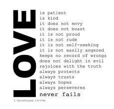 Love is ... #love