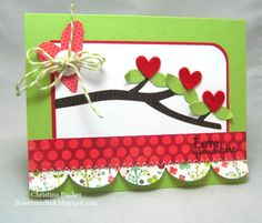 Flowers and Ink: Love Grows Here Card