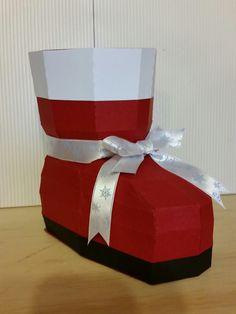 Santa Boot box for treats