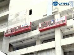 Jaypee® Suspended Platform Hoist now brings to India the most advanced suspended platform hoist. With features like safety lock model, advanced Electrical control system with anti-tilting, rope break, high quality steel wire rope and optional overload sensor. Control System, Safety, Wire, Platform, Construction, India, Steel, Security Guard, Building
