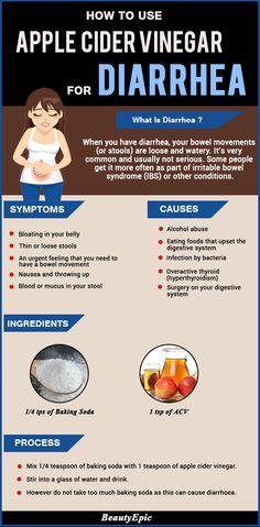 How To Use Apple Cider Vinegar to Treat Diarrhea? #Diarrhea