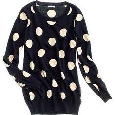 Rachel Bilson wearing Madewell Spotdot Sweater.
