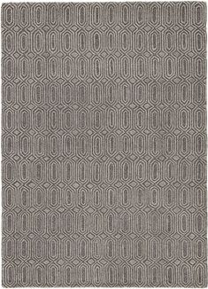 The pattern-rich Asos collection is a fusion of geometric intrigue and plush comfort. The Chaise rug features an intricate oval lattice design, hand-tufted and texturally carved of 100% natural wool. A dimensional gray colorway offers a neutral foundation in modern homes. LEARN MORE ABOUT UNDYED WOOLS
