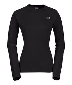 The North Face Women's Shirts & Tops Baselayers WOMEN'S WARM LONG-SLEEVE CREW NECK