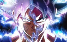 Descargar fondos de pantalla 4k, Goku, Ultra Instinto, el arte, Dragon Ball Z, transformación, DBZ, manga, Dragon Ball