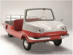1963 (Fuldamobil) Bambi Pickup Sporty - Manufactured in Argentina under license by FuldaMobil of Germany. Front