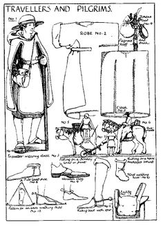 "The ""cloak"" is a very close pattern to the tabard I recently pinned."