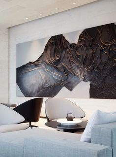 IDEAS & INSPIRATIONS Looking to enhance your home or simply create an oasis for your space? My client centered approach can do this for you! Wall Sculptures, Sculpture Art, Interior Architecture, Interior Design, Oeuvre D'art, Installation Art, Decoration, Living Room Decor, Wall Decor