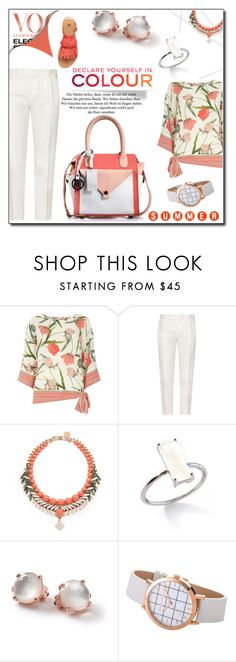 """""""Summer swag"""" by phiveriversuk ❤ liked on Polyvore featuring Billie & Blossom, Tod's, Ellen Conde, Chanel and Ippolita"""