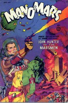 Man O'Mars (1953 Fiction House) 1