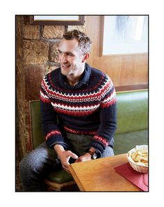 """J.Crew -- So in spite of horizontal stripes being wrong for my """"I am not at all a Tolkien elf"""" body I still love these alpine sweaters!"""