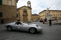 Lamborghini's Birthday Tour Of Italy. One was lucky enough to get the number 007.