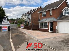 New Driveway and Extension With Block Paving - SD Home Improvements