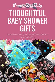 These handmade products are a perfect way to tell a new Mom-to-be how loved they are. Handmade Products, Diapers, New Moms, Little Ones, Babyshower, Baby Shower Gifts, You Got This, Lunch Box, Etsy Seller