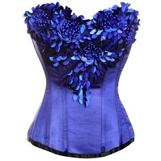 Blue Corset with sequin Embellishment                          LOVELY!