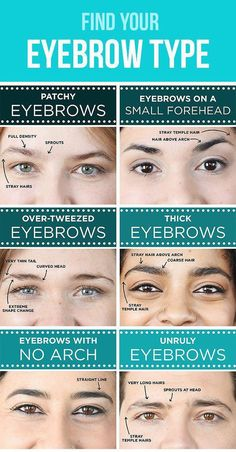 I have a small forehead and patchy eyebrows. This is a helpful guide on how to fill In, shape, tweeze, trim, and transform your eyebrows. Types Of Eyebrows, Thick Eyebrows, How To Shape Eyebrows, Eye Brows, Tweezing Eyebrows, Eyebrows For Blondes, Good Eyebrows, Waxing Eyebrows, Makeup Dupes