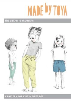 The Graphite Trousers – Made by Toya