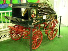 1890's Coca Cola Delivery Wagon