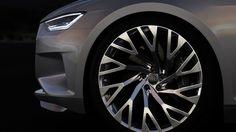 Audi Prologue Concept - Gris - Détail, jante