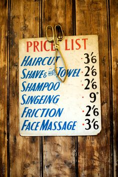 The way it was // prices