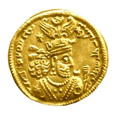The priests were responsible for maintaining the scales, measures, coinage, and trade for the entire nation.  http://www.believersbench.com/wp-content/uploads/2013/10/Gold_coin_with_the_image_of_Khosrau_II-Wiki-Commons.jpg