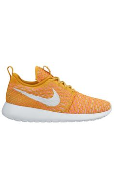 brand new e4fcb 4011a Nike Roshe One Flyknit – Gold Lead   White   Laser Orange   Sunset Glow  Roshe