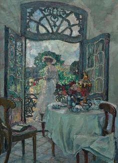 August von Brandis  A Summer's Day  Early 20th century