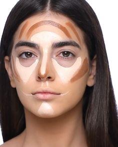 Makeup Looks Tutorial, Smokey Eye Makeup Tutorial, Eye Makeup Steps, Makeup Eye Looks, Soft Eye Makeup, Contour Makeup, Glam Makeup, Skin Makeup, Bronzer Makeup