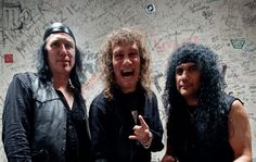 """Anvil is a Canadian heavy metal band from Toronto, Ontario, formed in 1978. The band consists of Steve """"Lips"""" Kudlow, Robb Reiner and Sal Italiano"""