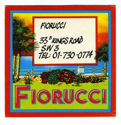 this is the Fiorucci that made me fall in love in the seventies...business card by TinTrunk, via Flickr