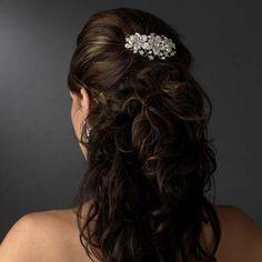 Floral Bliss Bridal Comb | Serendipity Tiaras
