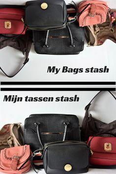 My bags. I love them! Ik laat jullie mijn tassen stash zien.