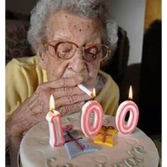 on my 100th Bday ...I'm getting high    ...cause       .........I aint got no job
