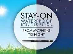 Chambor's Stay-On Waterproof Eyeliner Pencil is Smudge-Proof and Long-Lasting. Simply perfect for everyday use!
