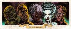 classic sci fi art | Sci-Fi And Horror Illustrations By Carlos Valenzuela | CROMEYELLOW.COM