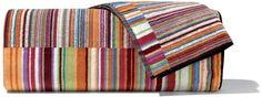 Jazz Handduk, cm - Missoni Home @ RoyalDesign. Contemporary Baths, Downstairs Loo, Bath Sheets, Floor Cushions, Stripes Design, Towel Set, Missoni, Bath Towels, All Modern